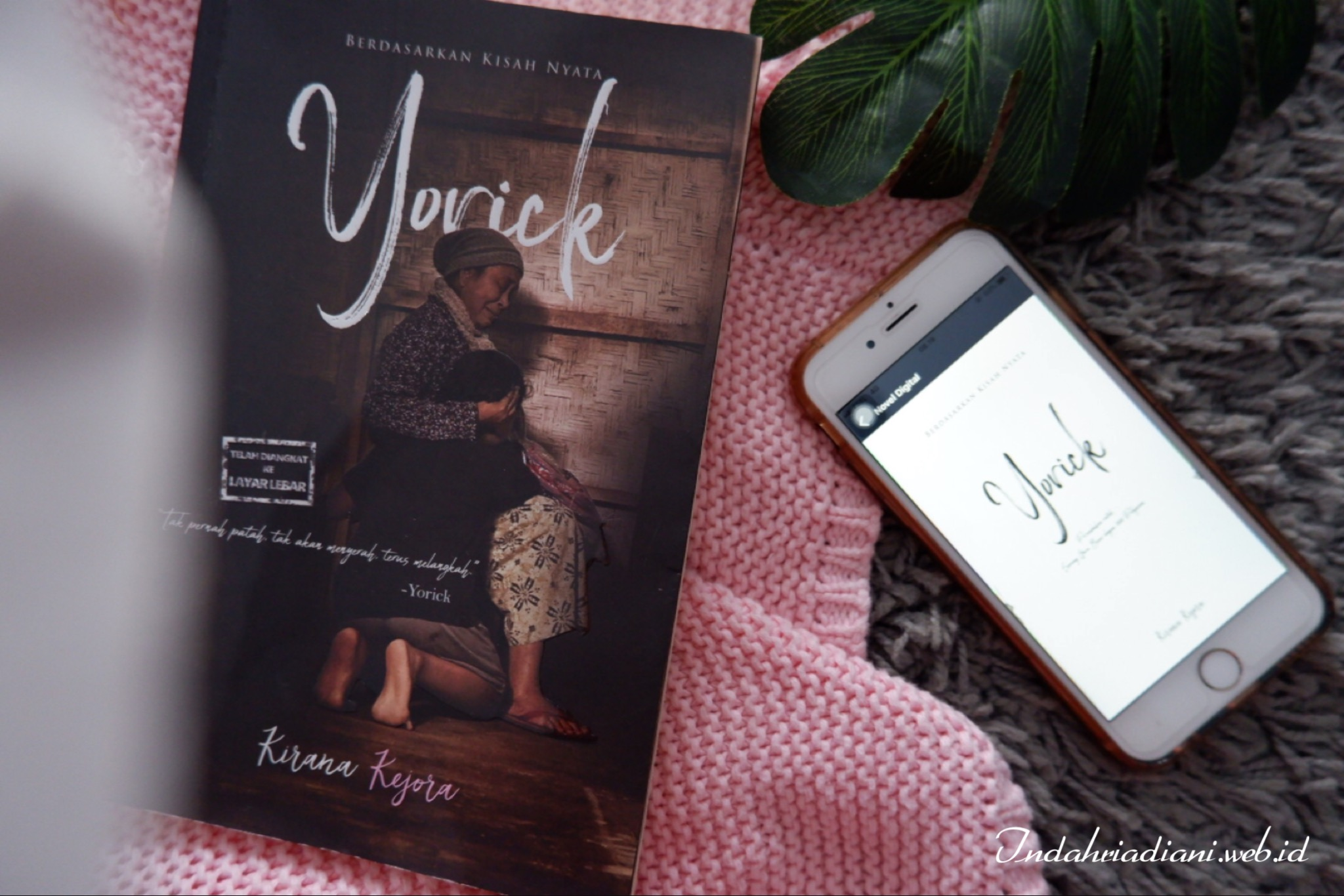 Review Novel Yorick: Bayang Nenek di Pelupuk Rindu