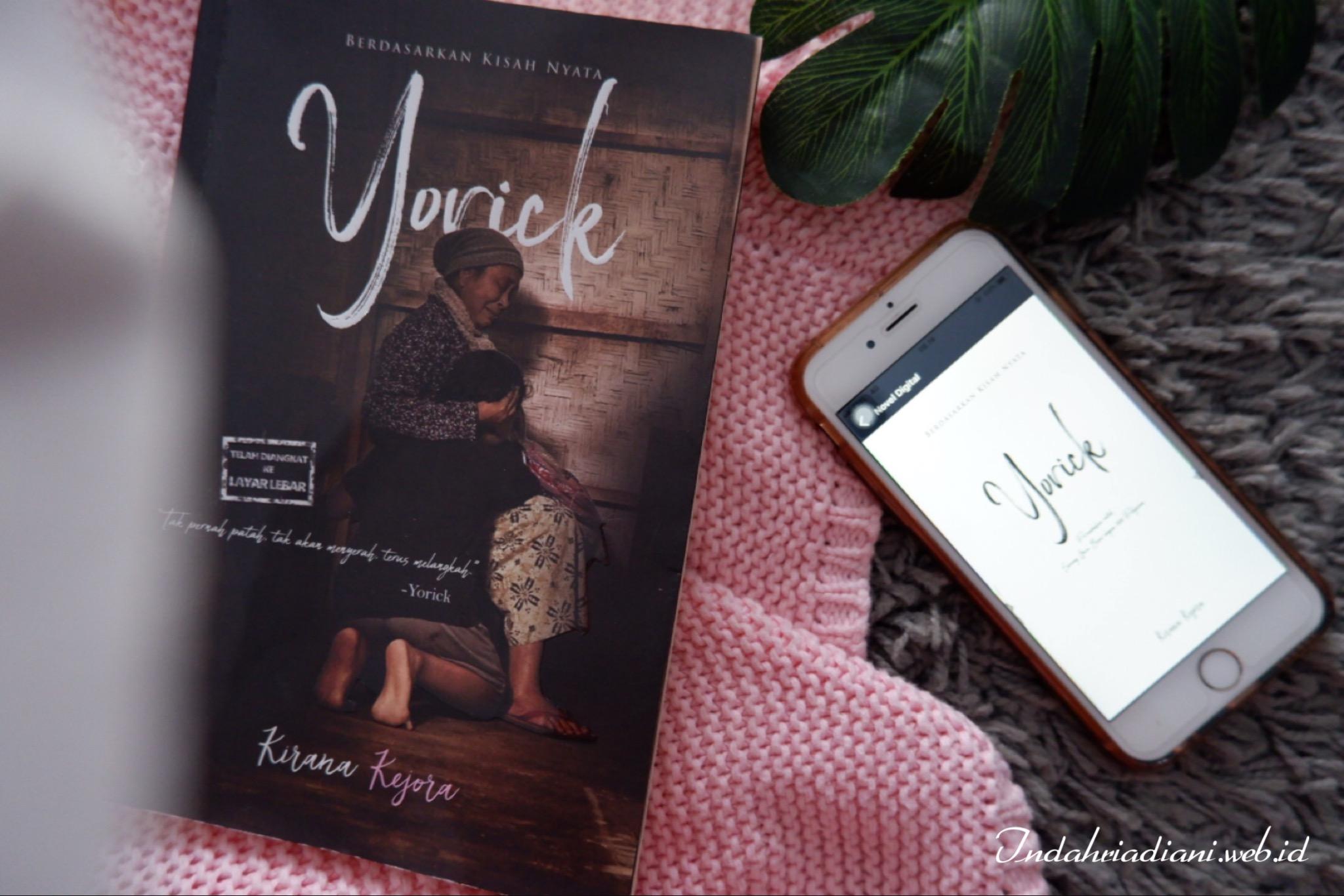 Review Novel Yorick: Bayang Nenek di Pelupuk Rindu